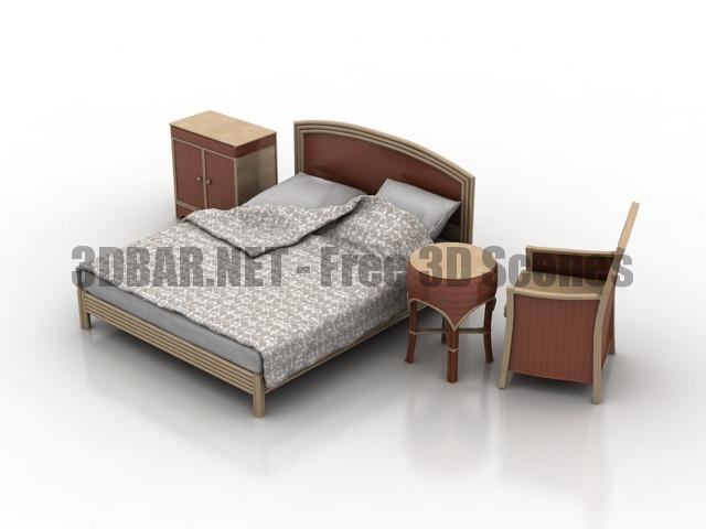 Monteva Bedroom 3D Collection