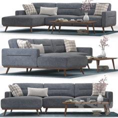 Helsinki corner sofa                                      3D Model