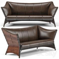 Kiribati 3 Seater Sofa                                      3D Model