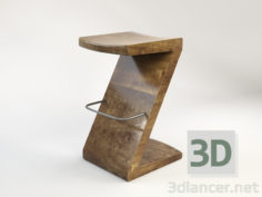 3D-Model  Bar Stool