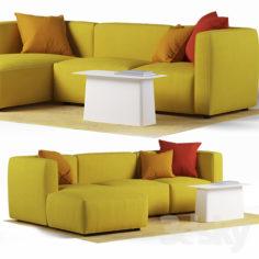 Dado Sofa by Alfredo Häberli                                      3D Model