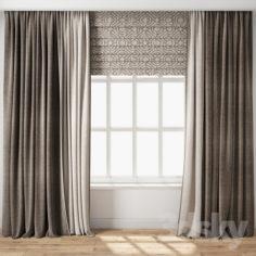 Curtain 112                                      3D Model
