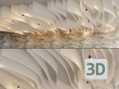 3D-Model  Fall Ceiling