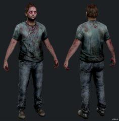 """(DLC) Infected """"Runner"""" Adam 3D Model"""