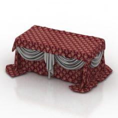 Tablecloth 3D Model