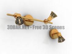 Citilux Vinon CL519513 CL519523 Spot Lamp 3D Collection