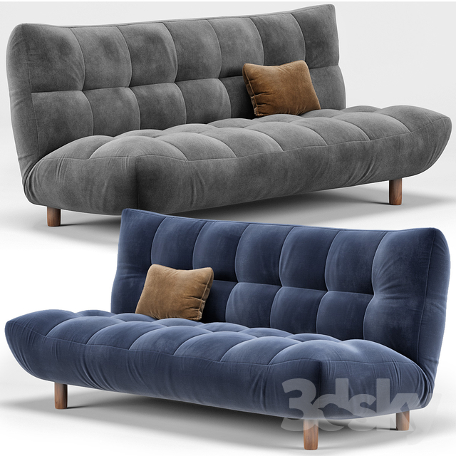Twist Tampico Sofa                                      3D Model