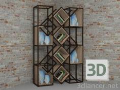 3D-Model  Shelves
