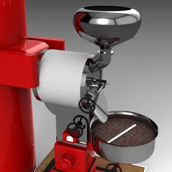 Coffee roaster 3D Model