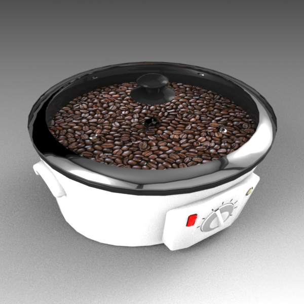 Coffee roaster 3D Model
