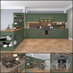 Kitchen Pedini Vintage – Sweetly                                      3D Model