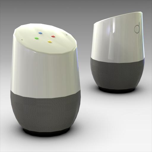 Google Home Assistant 3D Model