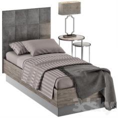SINGLE BED 08                                      3D Model