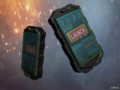 Tactical smartphone 3D Model
