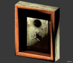 Wall Safe 3D Model