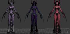 Serqet Demon 3D Model