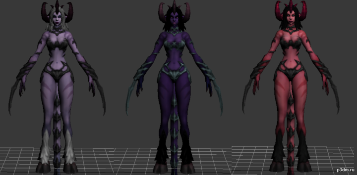 Serqet Demon 3D Model