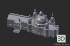 3D-Model  Vologda. Resurrection Cathedral