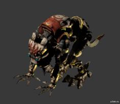 Cyber Dog 3D Model