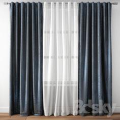 Curtain 109                                      3D Model