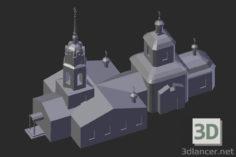3D-Model  Altufevo. Holy Cross Church