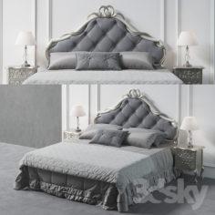 Savio Firmino Bed 1958                                      3D Model