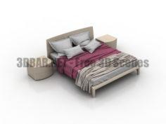 Sangiacomo cloe bed 3D Collection