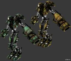 rocket 3D Model in  MAX,  FBX,  C4D,  3DS,  STL,  OBJ