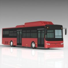 Yutong Electric Bus 3D Model