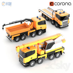 Scania Toy Car Kit                                      3D Model