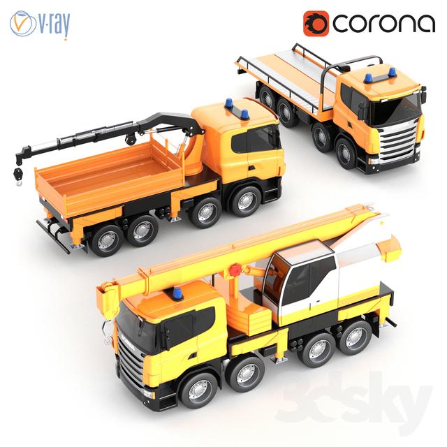 Scania Toy Car Kit                                      3D Model
