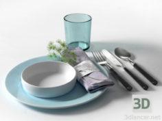3D-Model  cookware set