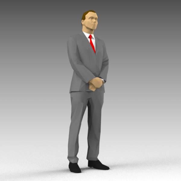 LP Man04 3D Model