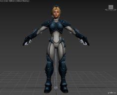 Heroes of the Storm ?Nova 3D Model