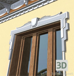 3D-Model  Window frame
