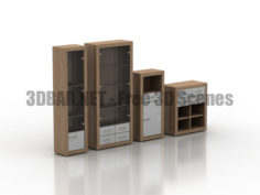 Cupboard chest Look series 3D Collection