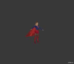 Supergirl: Multiverse 3D Model