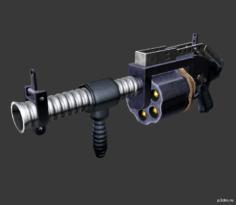 Grenade Launcher 3D Model