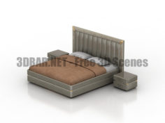 Bed Pozitano Dream Land 3D Collection