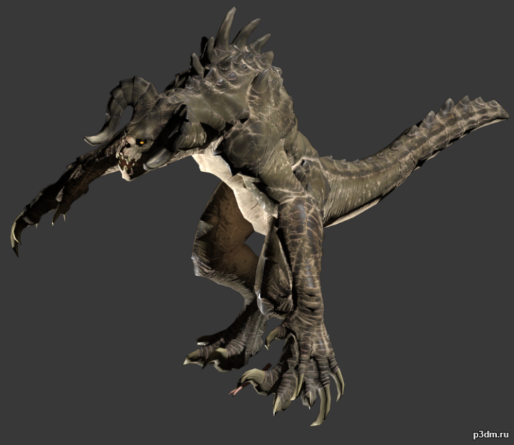 Deathclaw 3D Model