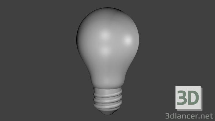 3D-Model  Light Bulb