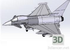 3D-Model  Eurofighter Typhoon FGR4 is EF2000