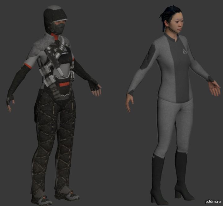 kpa_female 3D Model