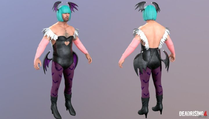 Frank West  Morrigan Costume 3D Model