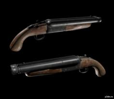 Shotgun (load) 3D Model
