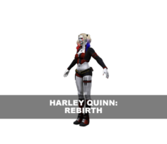 Harley Quinn (Rebirth) 3D Model