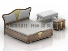 CARPANESE HOME A beautiful style 2020 Bedroom 3D Collection