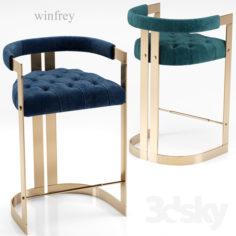 Winfrey bar chair – Ottiu                                      3D Model