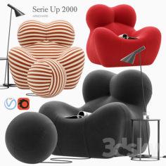 Serie Up 2000 armchair                                      3D Model