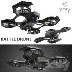 Combat drone                                      3D Model